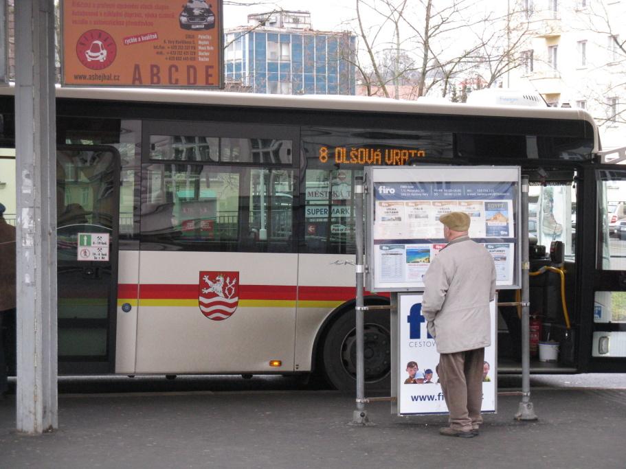 Autobusy MHD v Karlových Varech