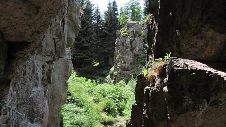 Do kaňonu je kvůli ochraně přírody i bezpečí návštěvníků vstup zakázán
