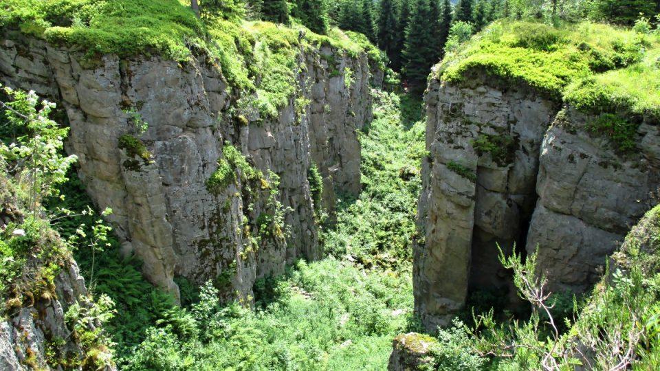 Ohromné důlní dílo a krásná příroda