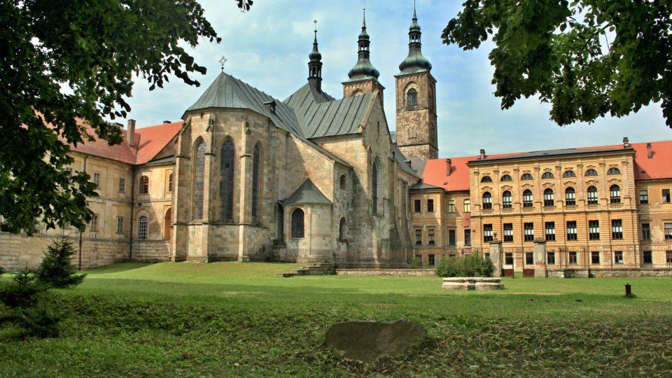 Tepelský klášter premonstrátů s kostelem Zvěstování Panny Marie
