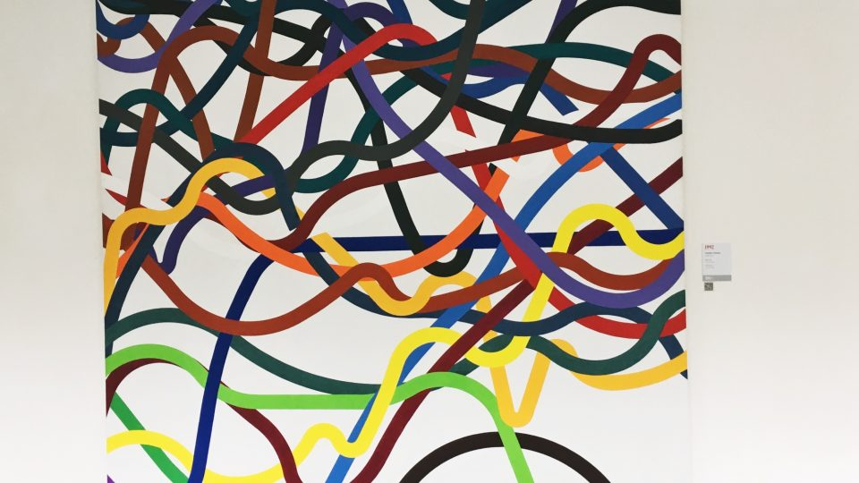 Obraz Zdeňka Sýkory Linie 97
