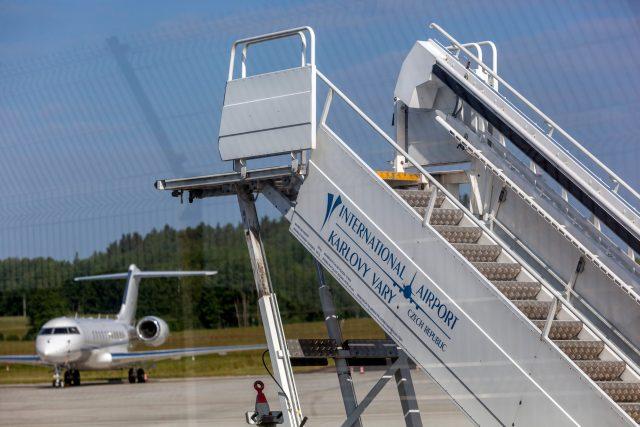 Letiště Karlovy Vary  (ilustrační foto) | foto: Fotobanka Profimedia