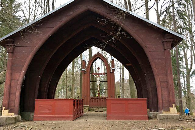 Lesní kaple sv. Kříže